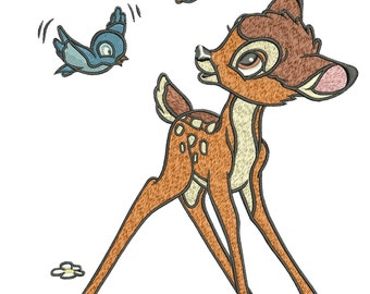 INSTANT DOWNLOAD Machine Embroidery Designs.  Bambi. Bambi.