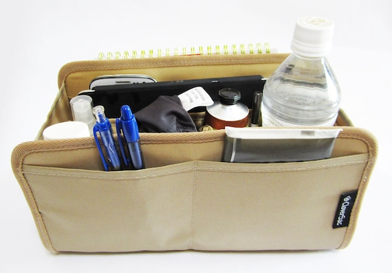 Purse Organizer Insert for Hermes Birkin 35 (Beige)