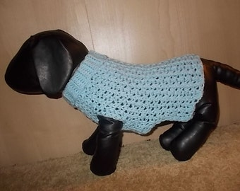 New Light Blue Dog Turtleneck Sweater/Clothing Yorkie Chihuahua Terrier Small S