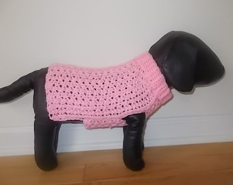 New Super Soft Baby Pink Dog Turtleneck Sweater/Clothing Yorkie Chihuahua Terrier Small S Crochet