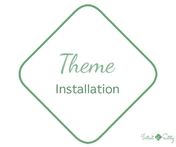 Theme Installation Import Upload Activate | WIX Template Install | WordPress Theme Installation | WIX Website | WordPress Website Theme
