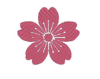 Japanese sakura blossom- 3 designs! machine embroidery design file