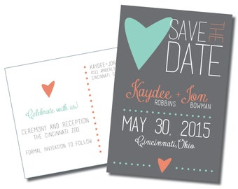 4x6 Save the Date Postcard