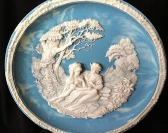 Shakespeare's Love Sonnets - Love Alters Not - Incolay Cameo Collectors Plates