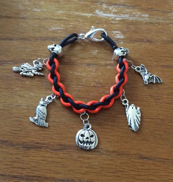 items similar to paracord custom charm bracelet