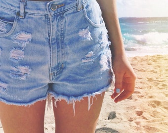 Custom High Waisted Shorts