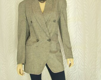 Jones Of New York Tweed Jacket