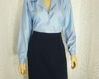 Navy Blue Lasting Impression Skirt