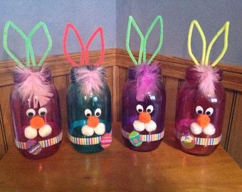Bunny Mason Jars