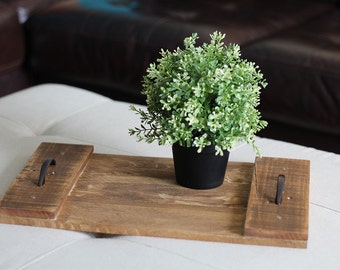 Simple Rustic Pallet Tray