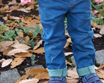 MBJM Twist and Shout Trousers/Jeans 0-3 month - Age 8 sewing pattern