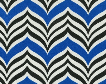 Ripple Effect Baltic, By The Yard,  Indoor Outdoor, contemporary Fabric. Waverly Fabric