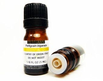 Petitgrain Essential Oil, 5ML or 15ML, 100% PURE & Therapeutic Essential Oil