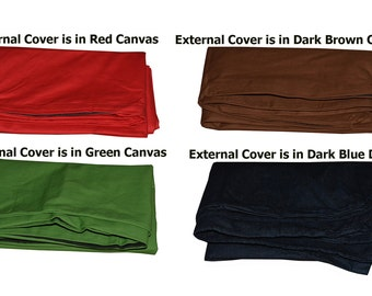 External Dog Bed Cover Only in ExtraLarge, Large, Medium sizes