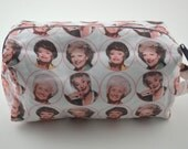 Thank You for Being a Friend Knitting & Crochet Project/Toiletry Box Bag