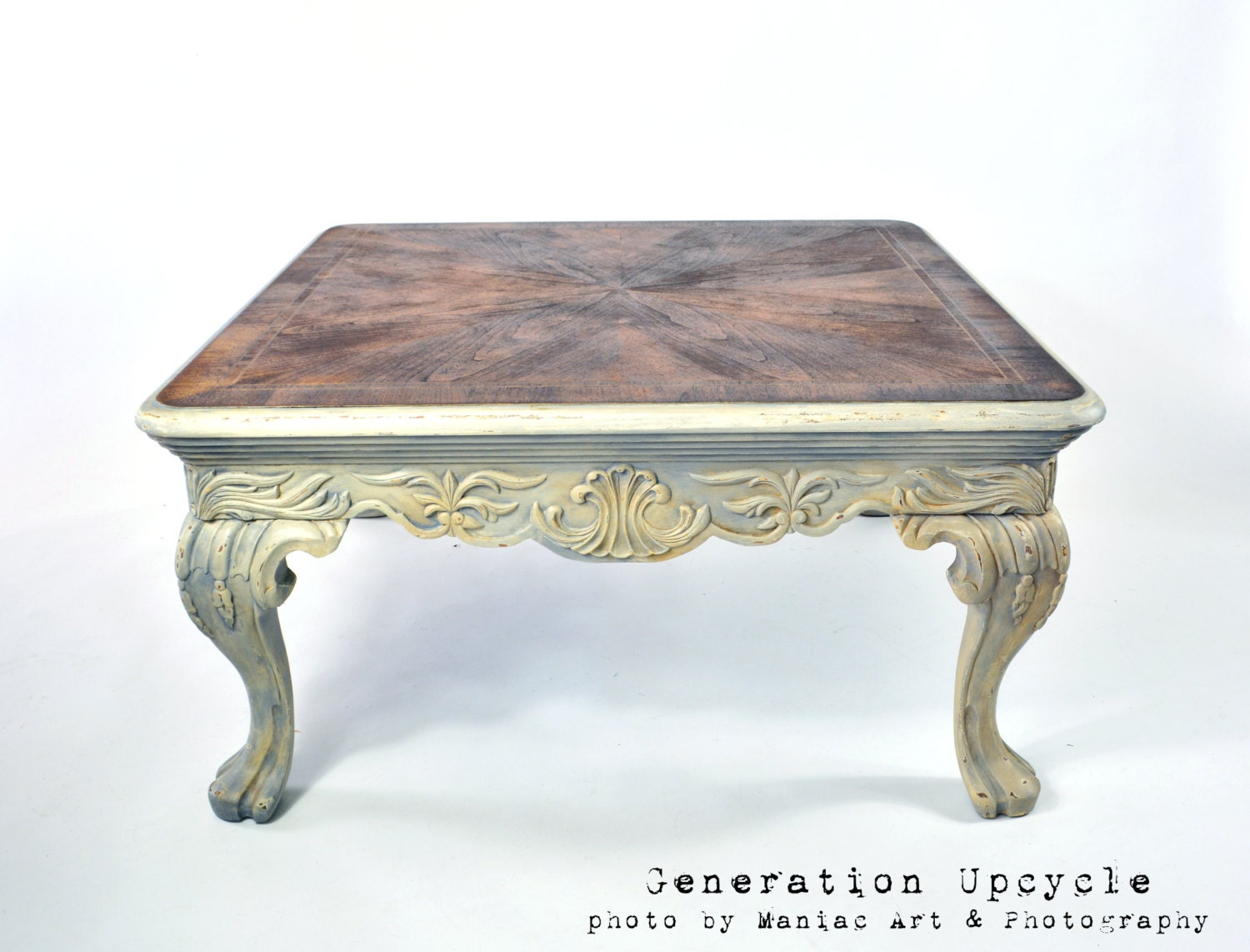 Coffee Table Rustically Shabby Chic By Generationupcycle