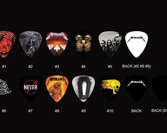 Metallica Guitar Pick Set (10pcs)