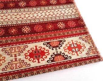 tissu d 39 ameublement de style tribal ethnique tissu de par. Black Bedroom Furniture Sets. Home Design Ideas