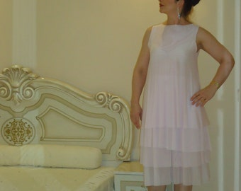 Tulle dress/Pink dress/ Party dress fit flare dresses/ Summer dress/ Everyday dress Wedding party  / All sizes available Us Uk Eu