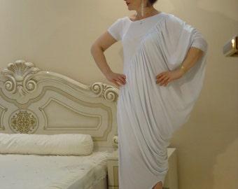 Kaftan Maxi dress Plus size dress Summer dress Party dress Oversize dress Asymmetrical dress / All sizes available Us Uk Eu