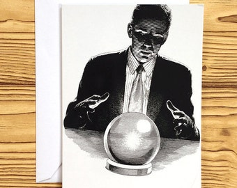 NOTECARD: Fortune Teller