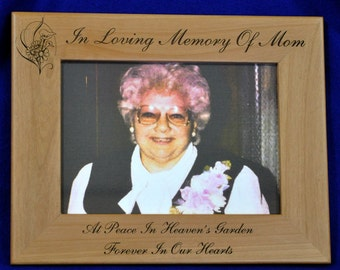 loss of mom gift mom memorial memorial gift funeral gift sympathy gift in loving memory frame sympathy frames gift for loss