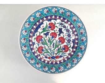 Traditional Ottoman Motifs, Ceramic Plate