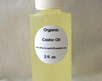 Castor Oil - Organic, Expeller Pressed