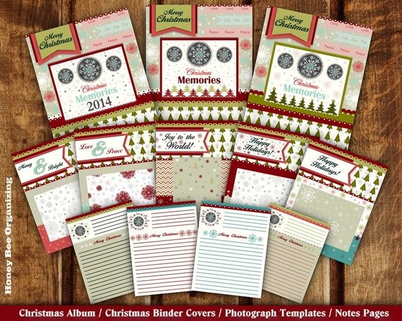 Madeline S Memories Vintage Christmas Cards: Printable Christmas Memories Keepsake Family By