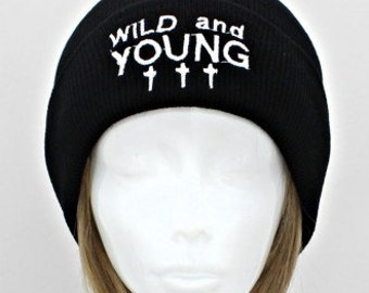 Wild and Young Cross Beanie