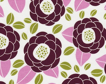 Joel Dewberry Aviary Lilac Blooms Fabric by Free Spirit