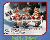 Rockette Reindeer--E-pattern packet by Sharon Cook