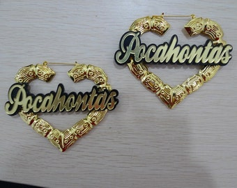 custom Nameplates Hearts