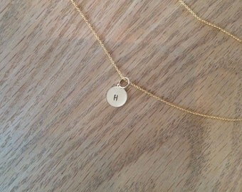 Add An Initial Charm to any necklace or bracelet.