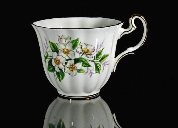 Bone China Fluted Teacup Royal Adderley Ridgeway Potteries Ltd.
