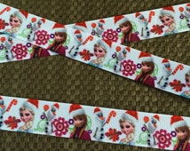 Frozen Inspired Christmas Ribbon