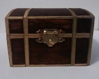 Treasure Chest, mini treasure box, 3x2