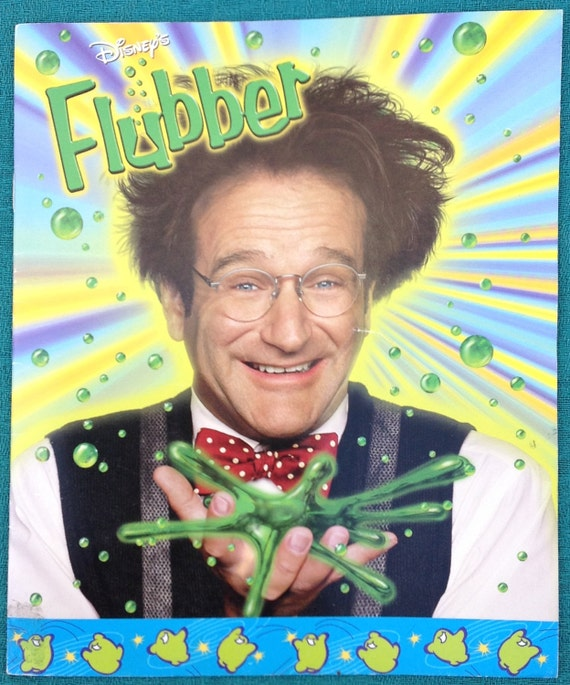 Items Similar To Flubber, Softcover Movie Tie-in Book
