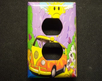Light Switch Cover Volkswagen Bus Double Outlet
