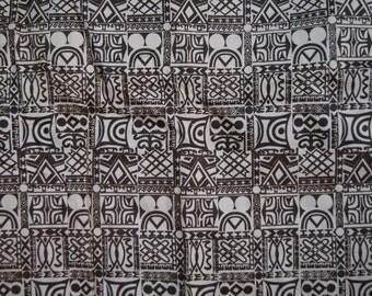 Vintage 1970's - Aladire west african apron skirt