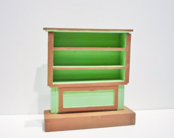 Shelves - Green and Brown