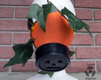 Pumpkin Patch Respirator Mask
