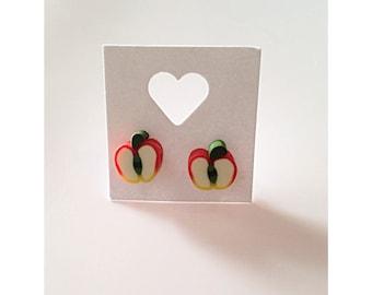 Apple fruity studs
