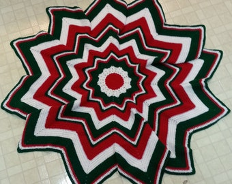 Christmas Spectrum Afghan