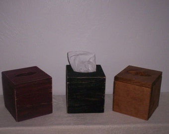 Appy Small Tissue Box Cover - Set of 2 Covers