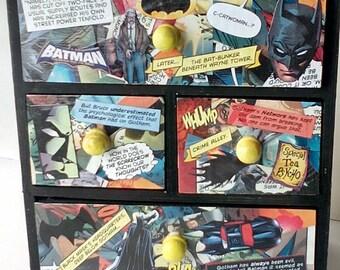Comic Book Miniature Drawers Jewellery Trinket Keepsake Box, Superhero, Marvel, DC, My Little Pony, Disney
