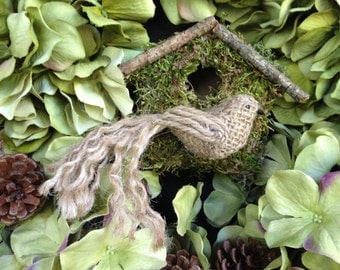 Popular items for burlap and moss on Etsy