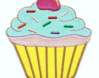 Iron On Cupcake Patch