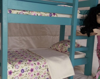 """Bunk Bed for American Girl or other 18"""" dolls"""