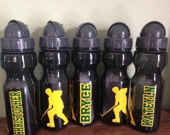 SALE Personalized Hockey Water Bottle 20oz